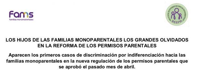 Nota de Prensa Regulación Permisos Paternales