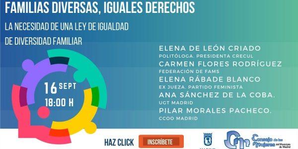 Jornadas Familias Diversas, Iguales Derechos.